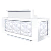 Image of Whale Spa Facet LED Reception Desk SCFCT