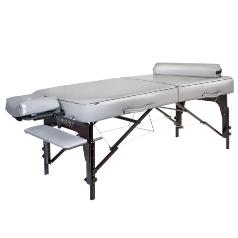 "Master Massage Montour 30"" Memory Foam Portable Massage Table Package 28259"