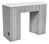 Image of Whale Spa Manicure Table NM905 Quartz Countertop | Tempo Collection