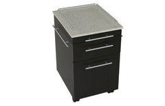 Touch America Deluxe Pedi-Cart w/Quartz Stone Top 41058-02