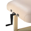 "Image of Master Massage Sheldon 30"" Cream Hydraulic Stationary Massage Table 10106"