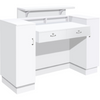 Image of Whale Spa Reception Desk SC06 Angular Design | Tempo Collection