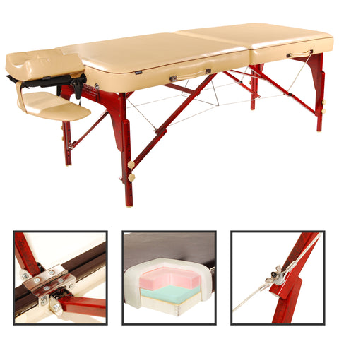 "Master Massage Monroe LX 30"" Portable Massage Table Package"