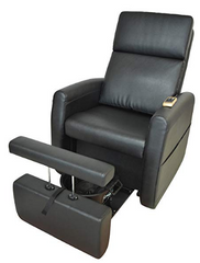 Pibbs PS9 Lounge Pedicure Chair w/ Vibration Massage
