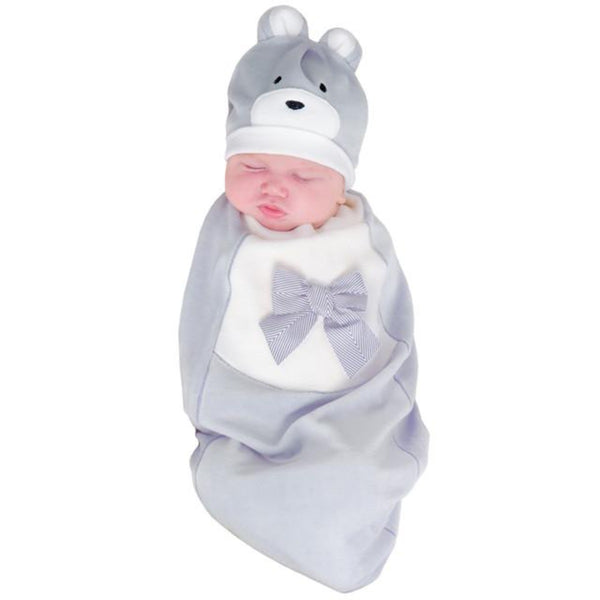 Cozy Cocoon Cozy Teddy Baby Swaddle  3