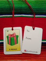 Loteria inspired gift tags (5 pack)
