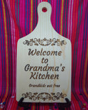 Grandma & Grandkids decorative board