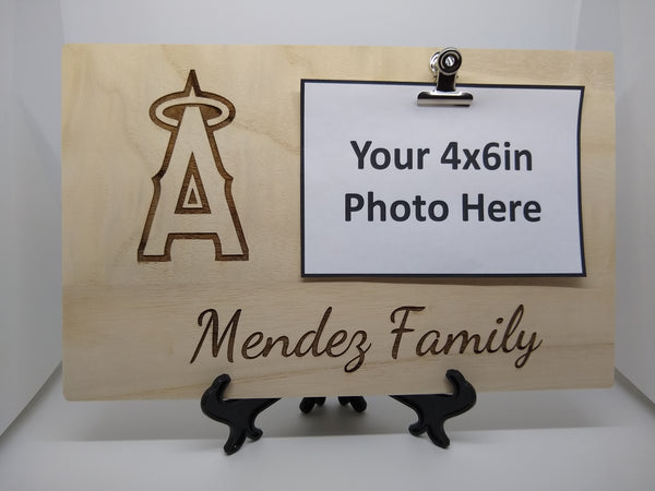 Personalized Angels Family Photo Board