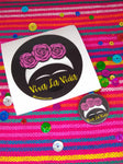 Frida Viva La Vida sticker and button