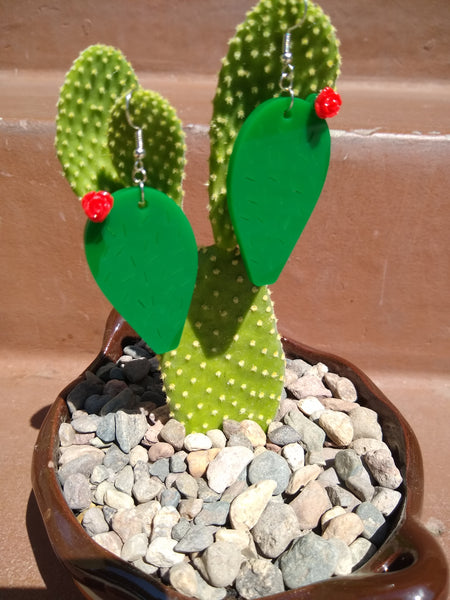 Nopal earrings
