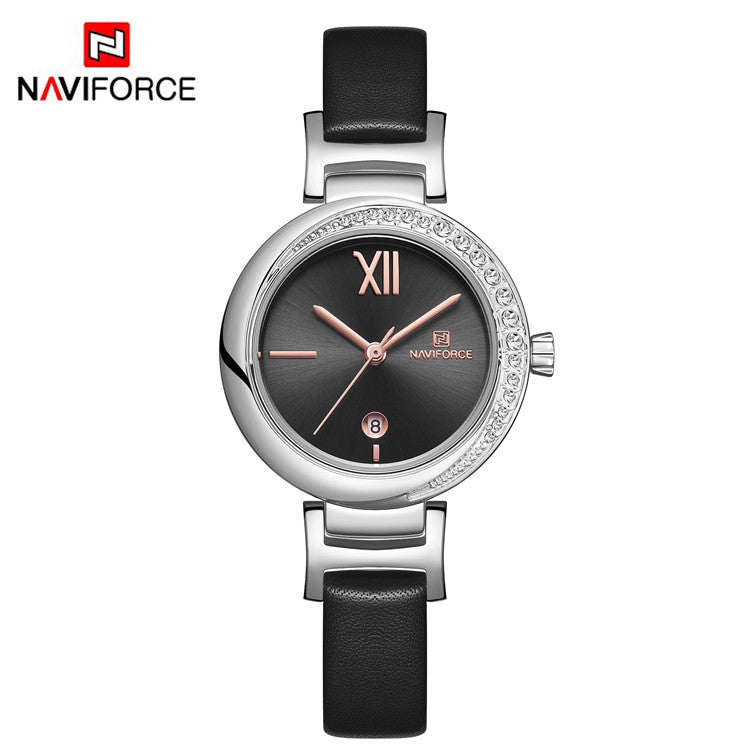 Naviforce 5007 Bella Women Watch - Black