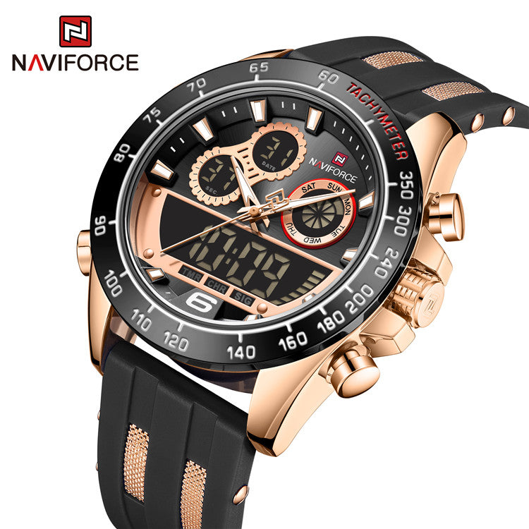 Naviforce 3003 Piper Watch - Black
