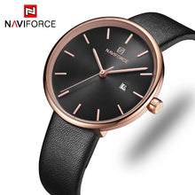 Naviforce 5002 Bloom Luxury Women Watch - Black