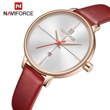 Naviforce 5006 Belladona Female Watch - Red