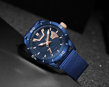 Naviforce 9155 Saturn Premium Watch - Blue