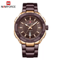 Naviforce 9176 Cannonade Men Watch - Brown