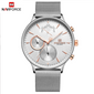 Naviforce 3010 The Man Business Watch - Silver