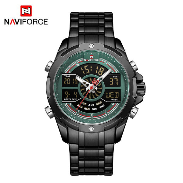 Naviforce 9170 Cyrax Men Watch - Black