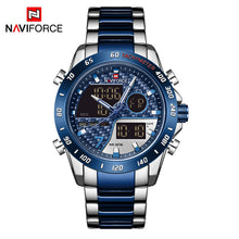 Naviforce 9171 Chromium Men Watch - Blue