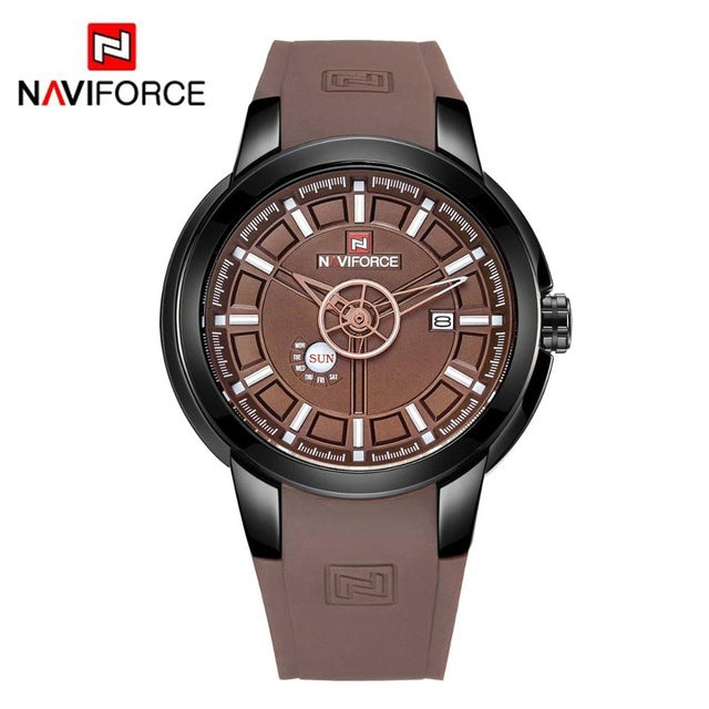 Naviforce 9107 Eco Series Unisex Watch - Brown