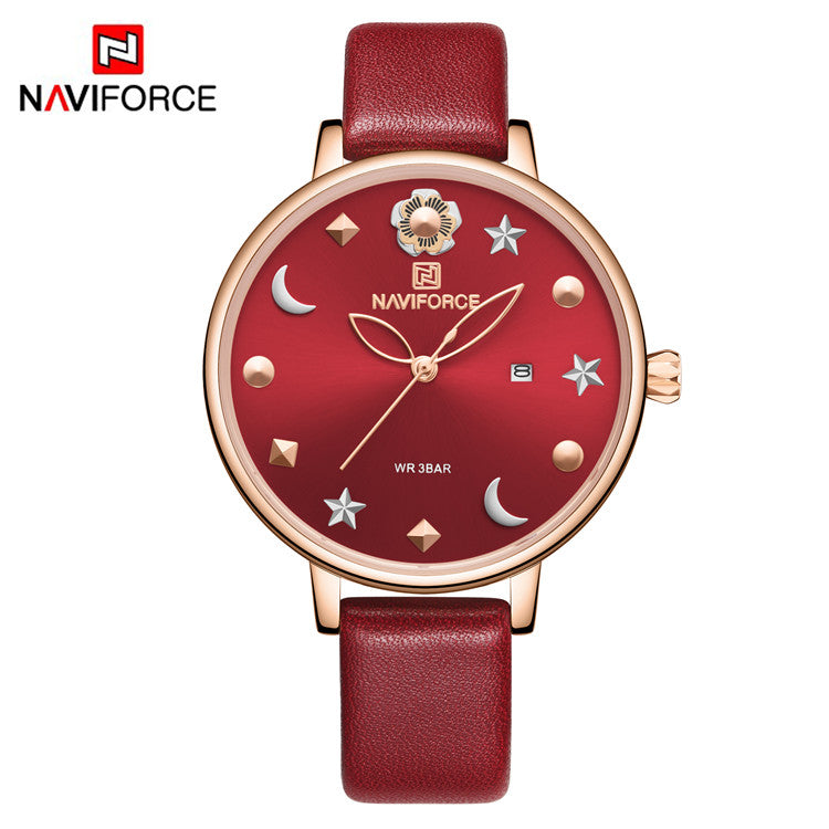 Naviforce 5009 Signora Women Watch - Red