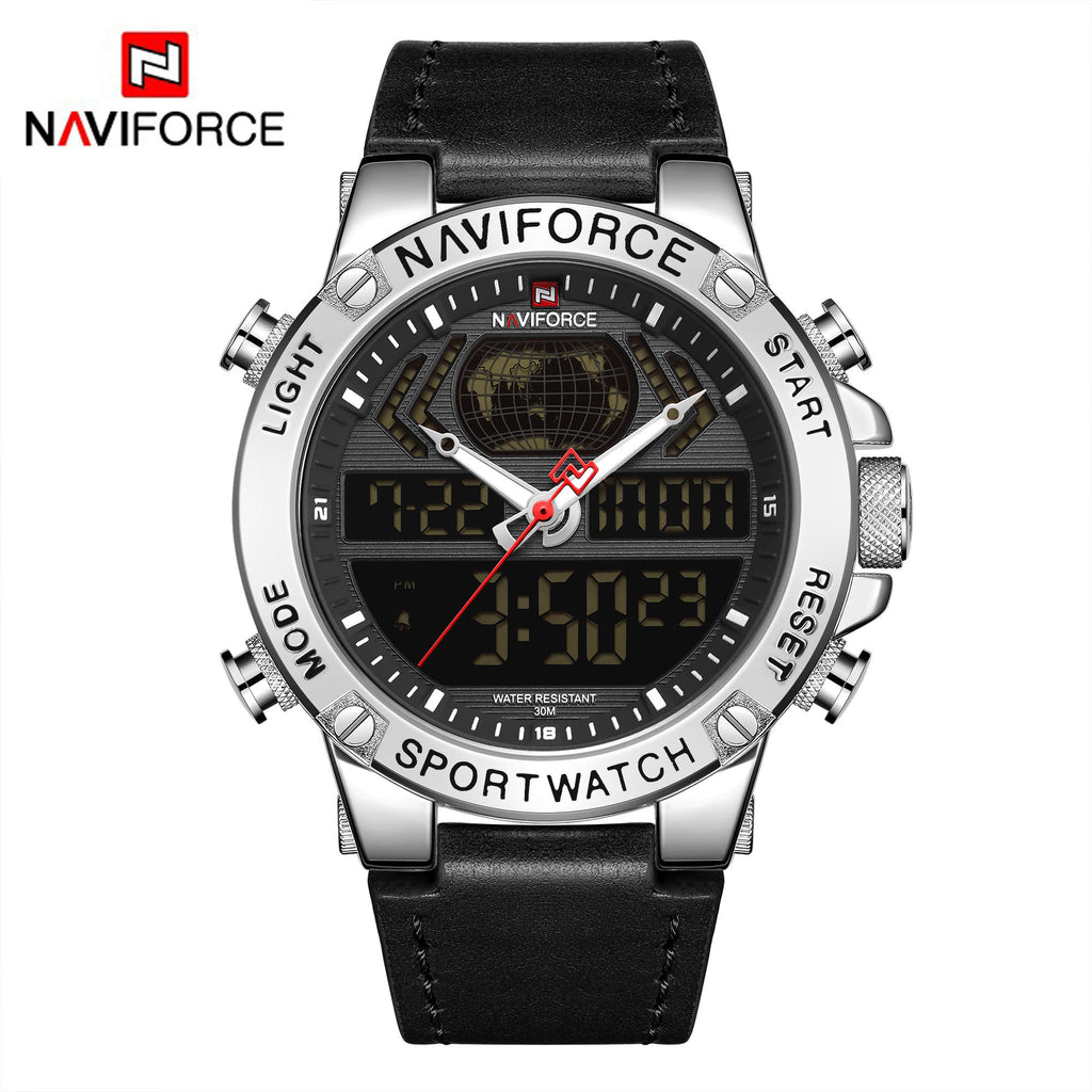 Naviforce 9164 War Tank Men Watch - Black