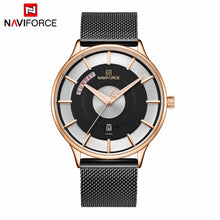 Naviforce 3007 Nebula Men Watch - Black
