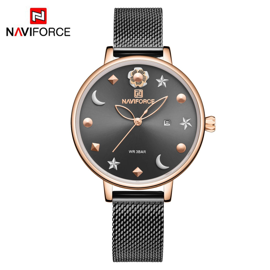 Naviforce 5009 Signora Women Watch - Black