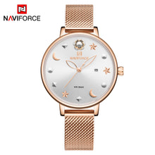 Naviforce 5009 Signora Women Watch - Gold