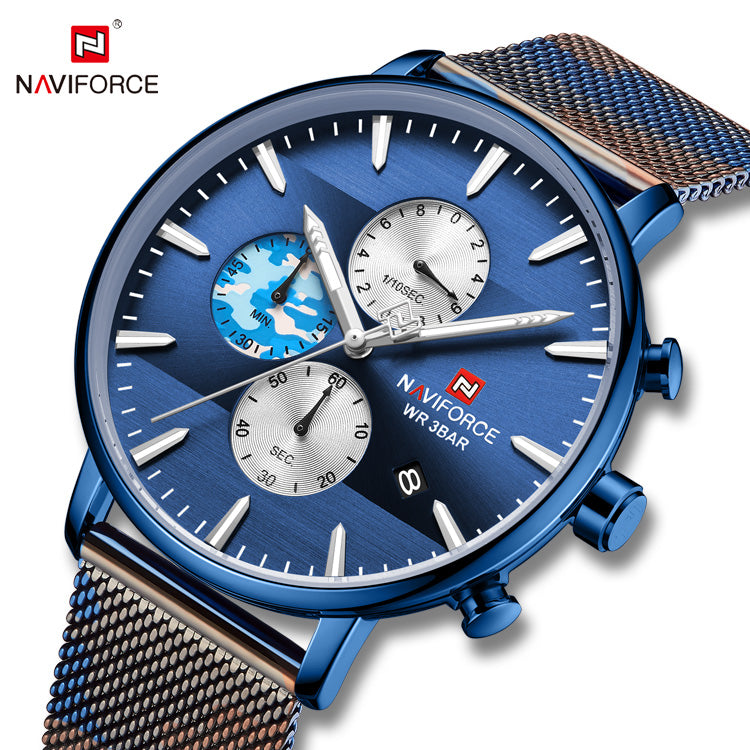 Naviforce 9169 Nitro Men Watch - Blue