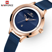 Naviforce 5014 Aurora Women Watch - Blue