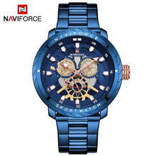 Naviforce 9158 Malibu Men Watch - Blue