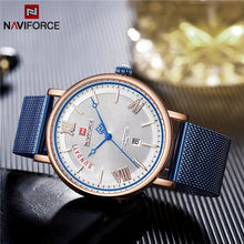 Naviforce 3006 Starfire Premium Watch - Blue
