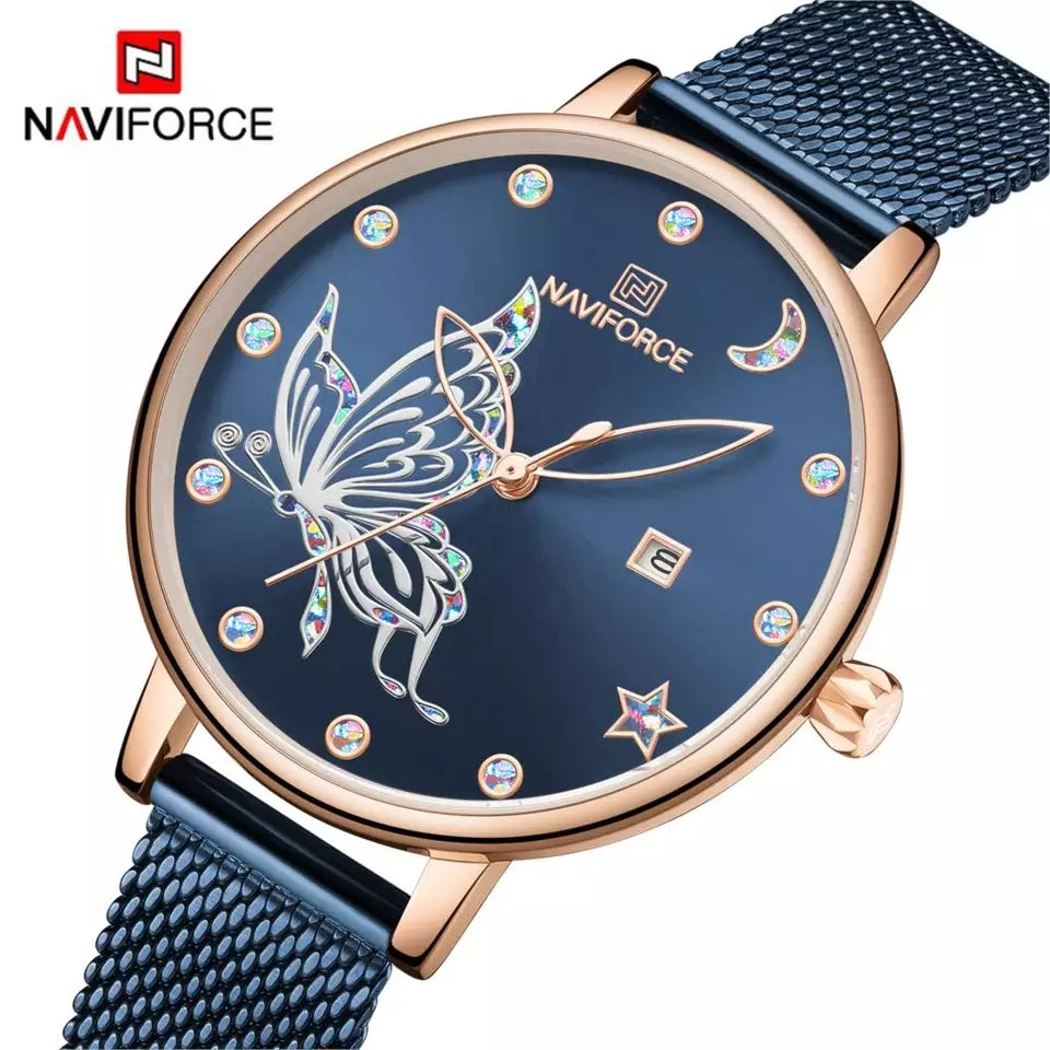 Naviforce 5011 Elektra Women Watch - Blue