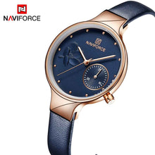 Naviforce 3005 Trendy Business Men Watch - Blue