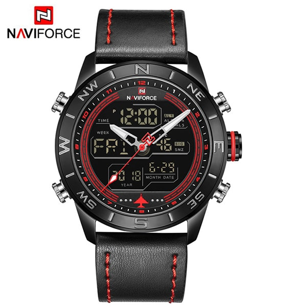 Naviforce 9144 Psychwave Classic Watch