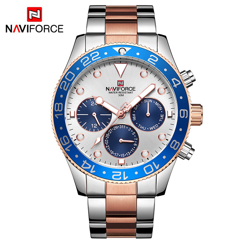 Naviforce Luxury Ritzy Men Watch (NF9147)