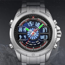 Naviforce 9170 Cyrax Men Watch - Silver