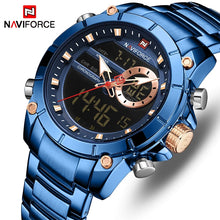 Naviforce 9163 Malibu Men Watch - Blue
