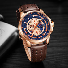 Naviforce 9142 Rose Gold Fantasy Men Watch