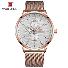 Naviforce 3003 Piper Unisex Watch - Rose Gold