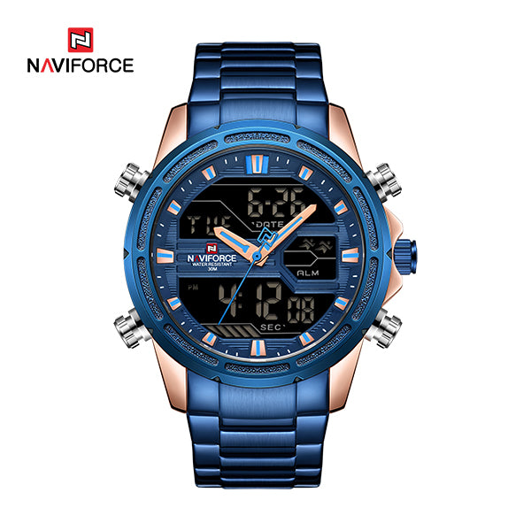Naviforce 9138 Relogio Men watch