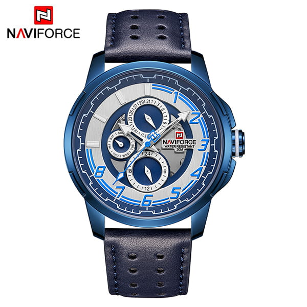 Naviforce 9142 Fantasy Men Watch - Blue