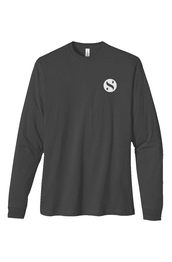 heavyweight logo longsleeve