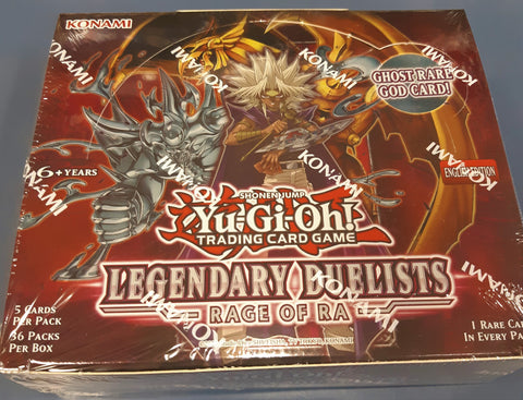 YuGiOh Rage of Ra sealed Booster box-. English. SPECIAL price