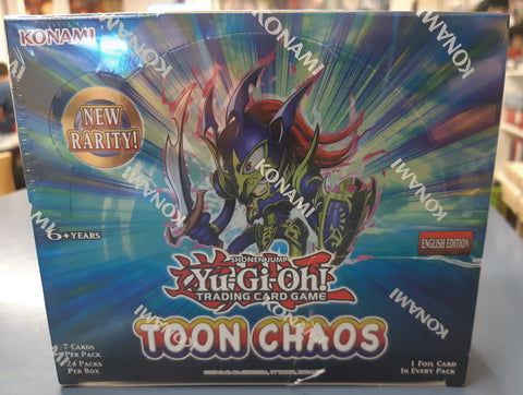 YuGiOh Toon Chaos booster box sealed. English.