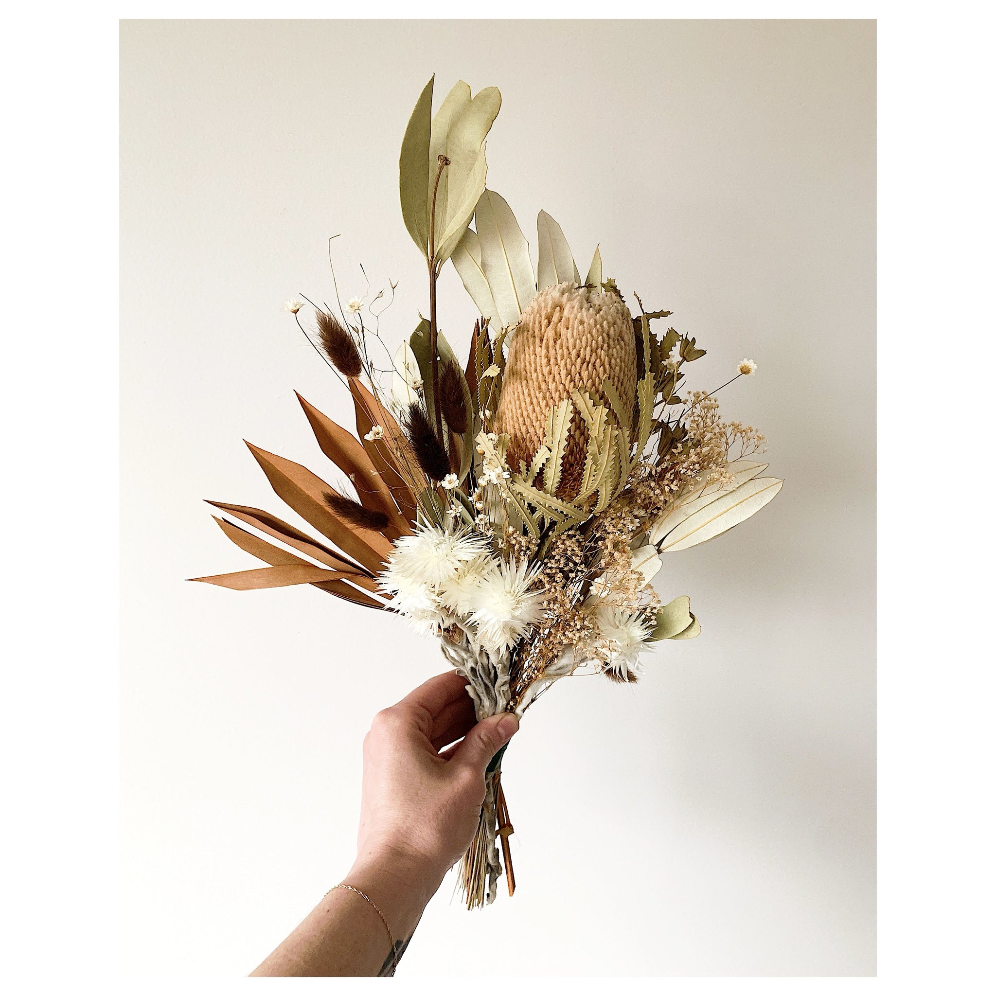 Terra Cotta and Natural Forever Bouquet