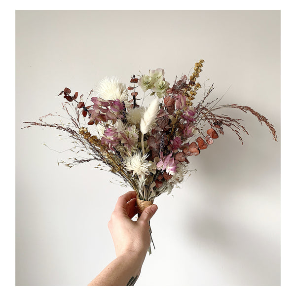 Custom Oregano, Helichrysum, and Motherwort Bouquet