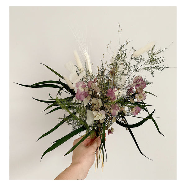 Small Oregano and Seeded Eucalyptus Forever Bouquet