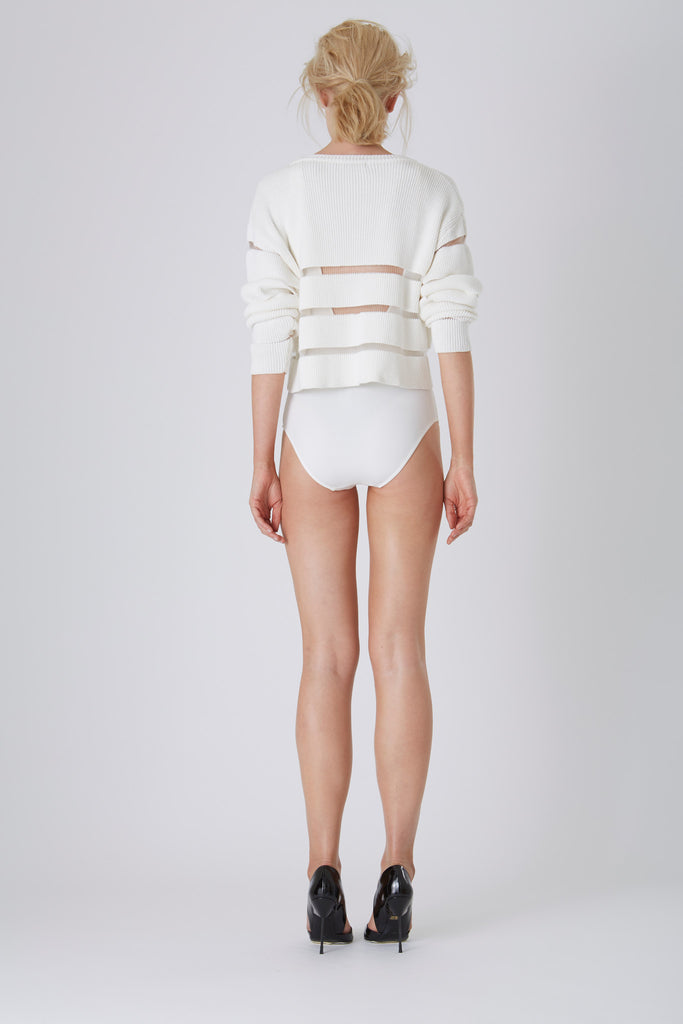 Ladder To Lust Knit Sweater - Asilio The Label - Saint Bowery - Shop Online